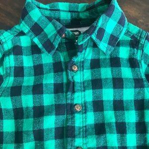 OshKosh B'gosh Shirts & Tops - Boys Plaid Flannel